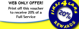Click to print of the 20% off a full service voucher